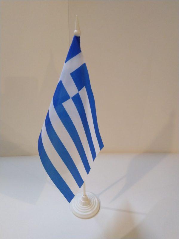 Флажок настольный страна Греция