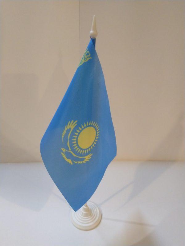 Флажок настольный страна Казахстан