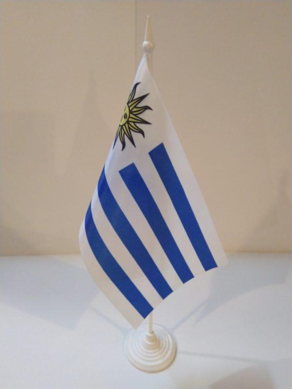 Флажок настольный страна Уругвай